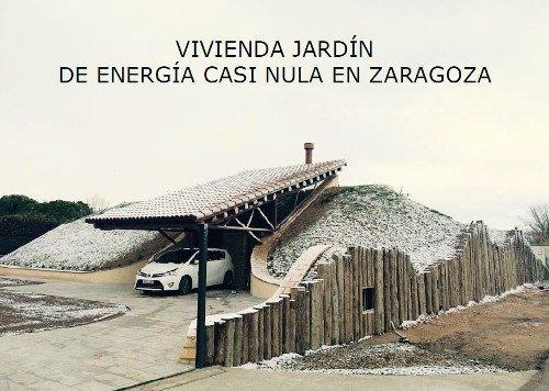 #proyectosociosASA VIVIENDA JARDÍN DE ENERGÍA CASI NULA EN ZARAGOZA