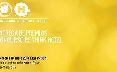 ENTREGA DE PREMIOS Re Think Hotel