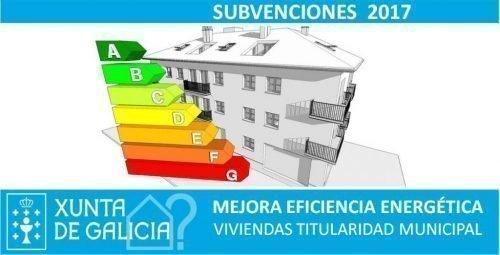 SUBVENCIONES Mejora Eficiencia Energética Viviendas Municipales de Galicia