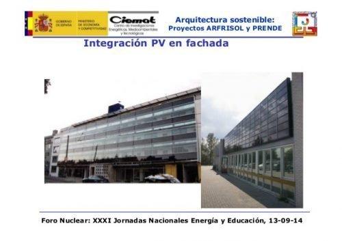 Proyecto AFRISOL: HACIA UNA NUEVA GENERACIÓN DE EDIFICIOS DE CONSUMO ENERGÉTICO CASI NULO Y CERO EMISIONES