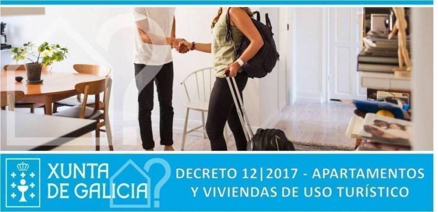 DECRETO 12/2017 APARTAMENTOS Y VIVIENDAS TURÍSTICAS DE GALICIA