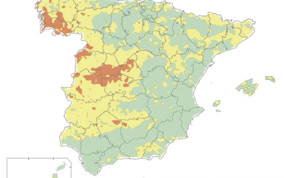 #indicadoresSOS: GAS RADÓN EN VIVIENDAS