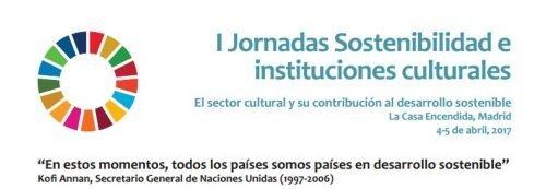 JORNADA SOSTENIBILIDAD E INSTITUCIONES CULTURALES