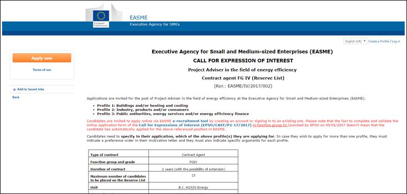 OFERTA EMPLEO: AESME busca personal altamente cualificado en Eficiencia Energética