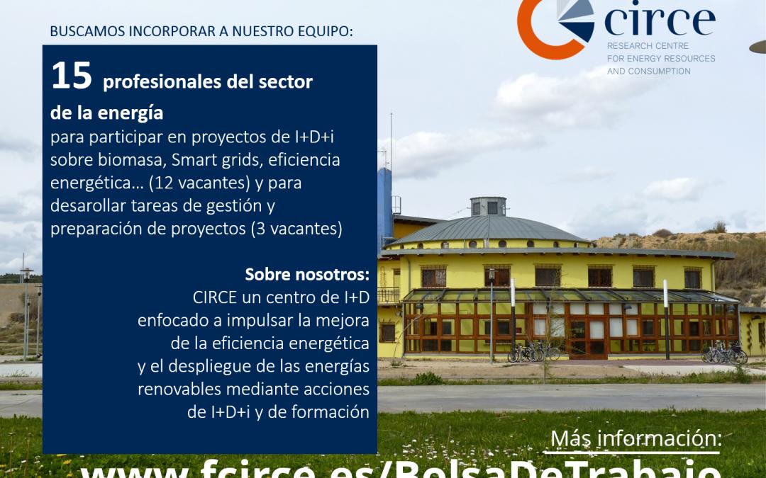 EMPLEO EN CIRCE: 15 OPORTUNIDADES EN EL SECTOR DE LA ENERGÍA