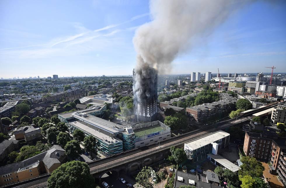 REFLEXIONES SOBRE LA PROTECCIÓN DE LOS EDIFICIOS FRENTE AL FUEGO ¿Puede pasar en España lo que pasó en Londres?