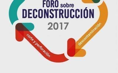 FORO SOBRE DECONSTRUCCIÓN 27 SEP|MADRID