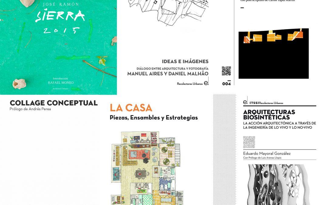 LIBROS IMPRESCINDIBLES CON DESCUENTO PARA SOCIOS: ASA+EDITORIAL RECOLECTORES URBANOS