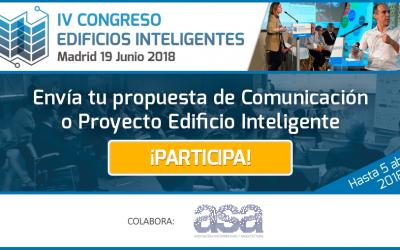 IV Congreso Edificios Inteligentes (Madrid, 19 Junio 2018)