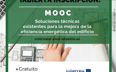 Abierta inscripción para cursos online gratuitos sobre Rehabilitación Energética