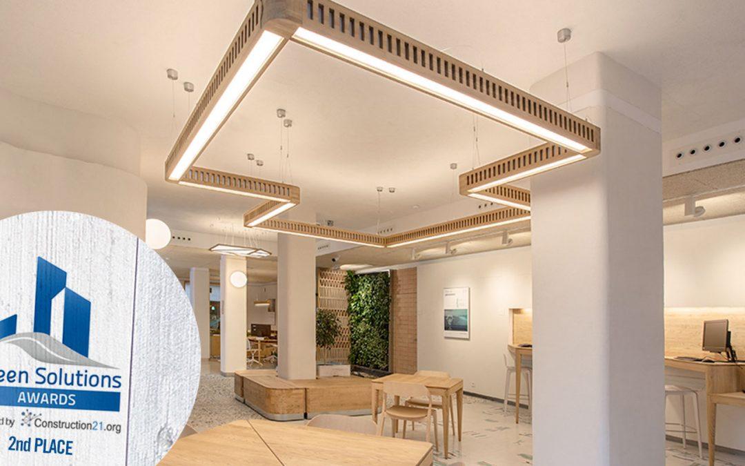 #proyectosSociosASA OFICINA PARA TRIODOS BANK EN MÁLAGA | sAtt arquitectos | 2º premio Green Building Awards 2017 |