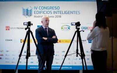 Ya disponibles todos los contenidos del IV Congreso Edificios Inteligentes celebrado 19 Junio 2018 en el COAM