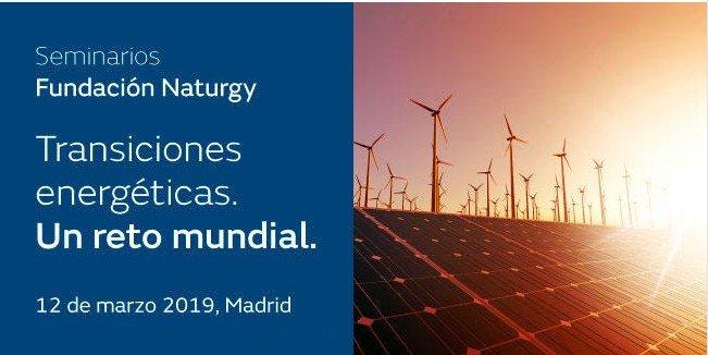 Seminario TRANSICIONES ECOLÓGICAS. UN RETO MUNDIAL con el Ministerio para la Transición Ecológica. | Madrid 12 de marzo |