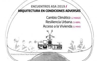 #EncuentrosASA_ROCA 2019: HABITABILIDAD Y ACCESO A LA VIVIENDA | Madrid 22 mayo |
