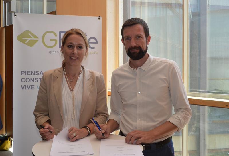 GBCe actuará en España como certificador de Green Building Council Alemania