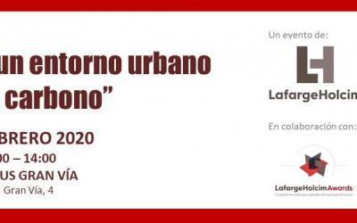 """Jornada """"Hacia un entorno urbano bajo en carbono"""""""