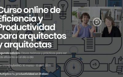 Descuento para socios y socias de ASA curso  Curso online de Eficiencia y Productividad para arquitectos y arquitectas